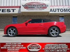2014 Chevrolet Camaro 2LT RS, LEATHER, HUD, FLAWLESS! Convertible