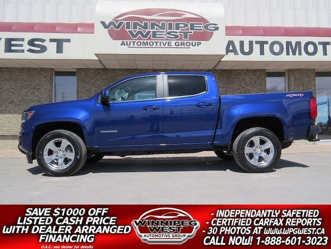 2016 Chevrolet Colorado CREW, 305HP V6 4X4, LOADED, VERY CLEAN & SHARP! Truck Crew Cab