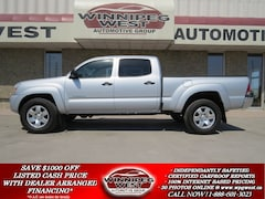 2011 Toyota Tacoma DOUBLE CAB V6 4X4, LOADED, CLEAN LOCAL TRADE Truck Double-Cab