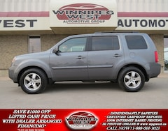 2010 Honda Pilot EX-L AWD, 8 PASS, ROOF, LEATHER, BACKUP, LOADED! SUV