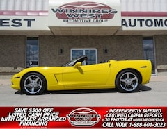 2005 Chevrolet Corvette 3LT CONVERT, PERFORMANCE EXHAUST & MORE, LOW KMS Convertible