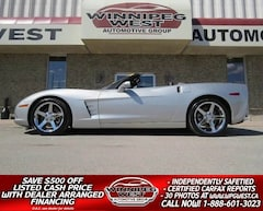 2005 Chevrolet Corvette 3LT Z51, 6-SPEED, FLAWLESS! Convertible