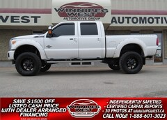 2016 Ford F-350 LIFTED PLATINUM CREW  POWERSTROKE DIESEL 4X4, NICE Truck Crew Cab
