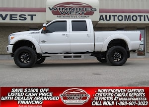 2016 Ford F-350 LIFTED PLATINUM CREW  POWERSTROKE DIESEL 4X4, NICE