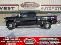 2009 Chevrolet Silverado 2500HD LTZ DURAMAX 4X4, LEATHER, LOADED,1-OWNER! Truck Extended Cab