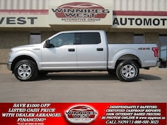2015 Ford F-150 XLT CREW CAB 4X4, 1 OWNER, LOADED, LOW KMS! Truck Crew Cab