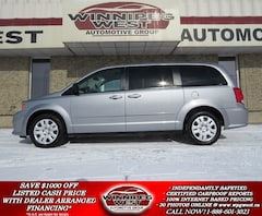2013 Dodge Grand Caravan SXT STOW-N-GO SEAT, REAR AIR/HEAT, 7 PASS, LOCAL Van
