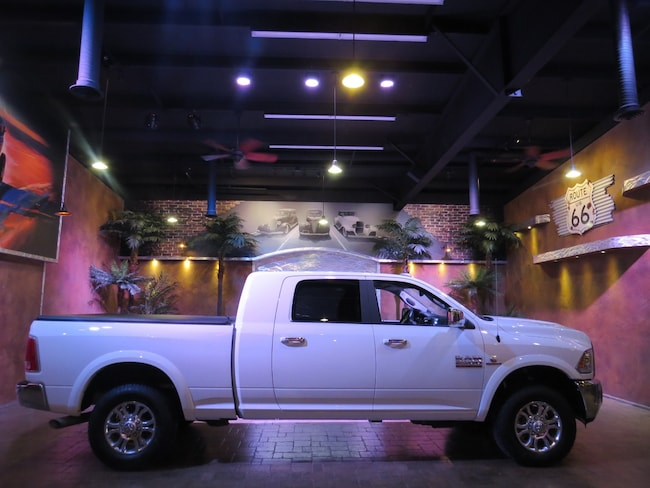 2018 Ram 2500 Laramie Mega Cab 4WD-Leather-Tonneau Cover- B.Up C Truck
