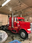 2014 PETERBILT 388 couchette 44