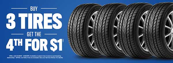 Buy 3 Get 1 Free Tires >> Buy 3 Tires Get The 4th For 1 Transitowne Chrysler Jeep