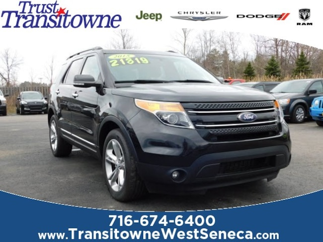 New 2015 Ford Explorer Limited SUV Near Buffalo