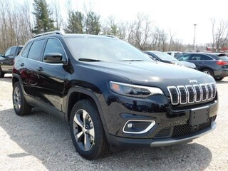 New 2019 Jeep Cherokee LIMITED 4X4 Sport Utility 1C4PJMDN6KD167290 E19128 in Williamsville, NY