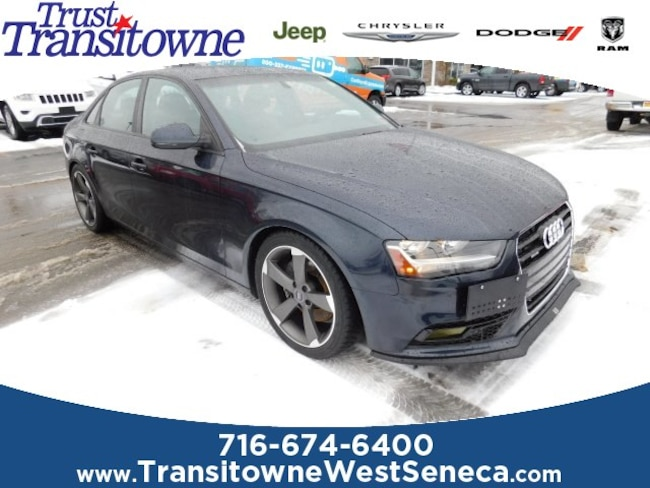 New 2013 Audi A4 2.0T Premium Sedan Near Buffalo