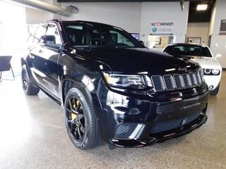 New 2018 Jeep Grand Cherokee TRACKHAWK 4X4 Sport Utility in Williamsville, NY