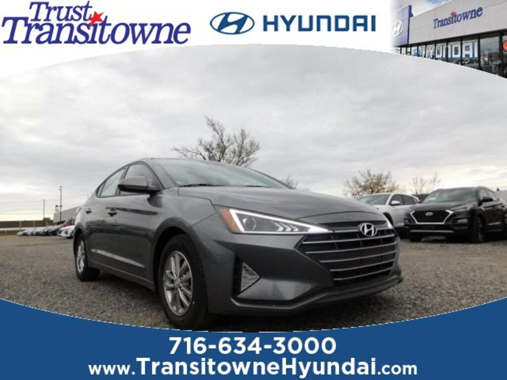New 2019 Hyundai Elantra For Sale At Transitowne Hyundai Vin