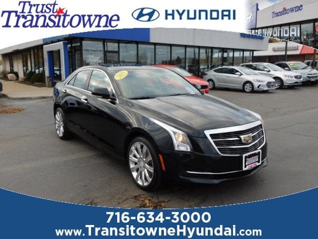 Used 2015 Cadillac Ats For Sale At Transitowne Hyundai Vin