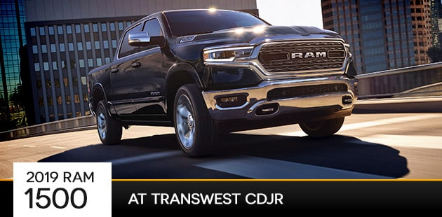 2019 Ram 1500 at Transwest CDJR