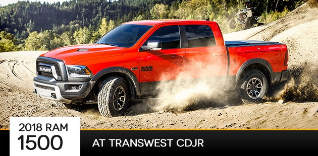 2018 Ram 1500 at Transwest CDJR