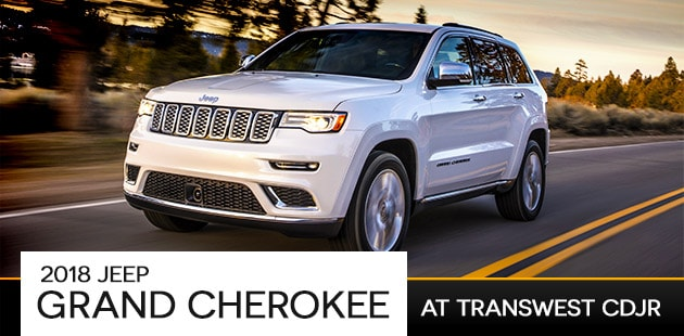 2018 Jeep Grand Cherokee At Transwest Limon