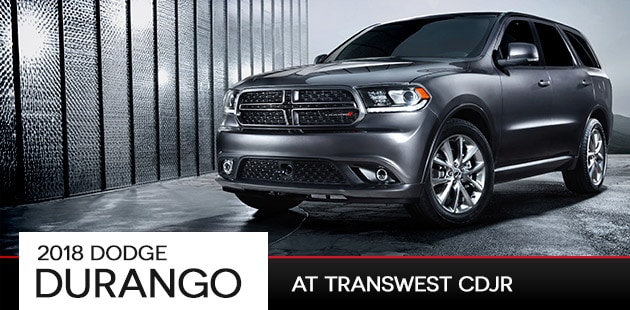 2018 Dodge Durango at Transwest CDJR