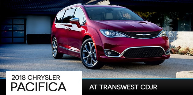 2018 Chrysler Pacifica at Transwest CDJR