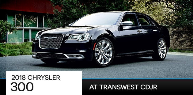 2018 Chrysler 300 at Transwest CDJR