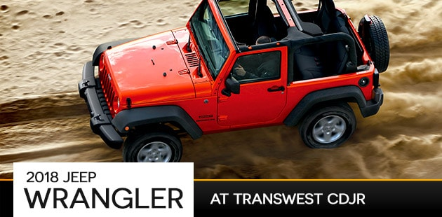 2018 Jeep Wrangler at Transwest CDJR