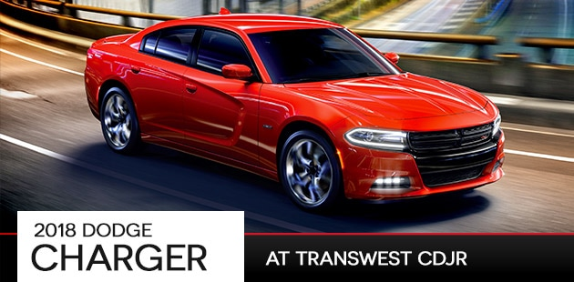 2018 Dodge Charger at Transwest CDJR