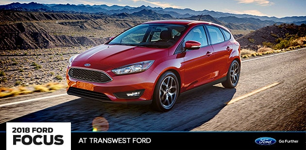 2018 Ford Focus at Transwest Ford