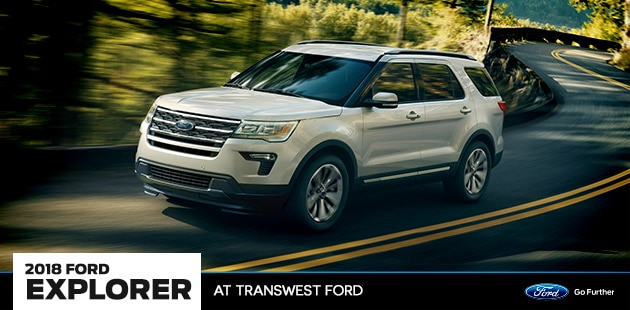 2018 Ford Explorer at Transwest Ford