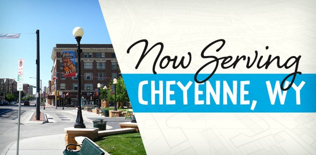 Now Serving Cheyenne, Wyoming - Torrington, WY