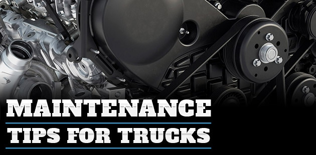 Maintenance Tips for Trucks - Torrington, WY