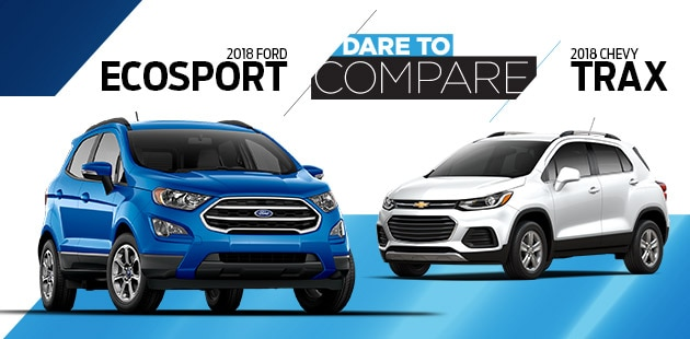 2018 Ford EcoSport vs 2018 Chevrolet Trax - Torrington, WY
