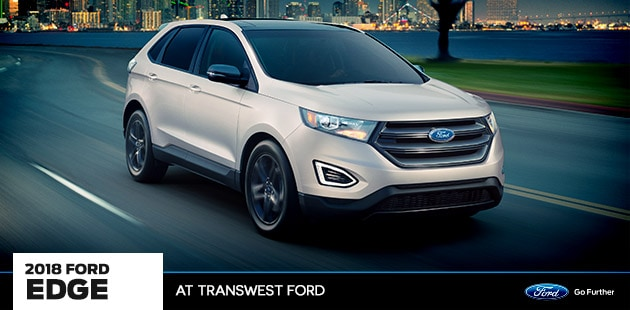 2018 Ford Edge at Transwest Ford