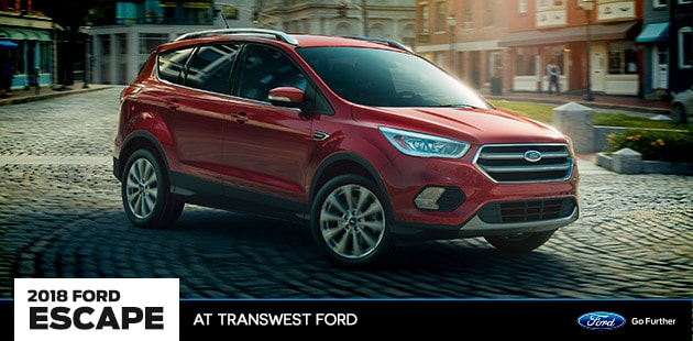 2018 Ford Escape at Transwest Ford