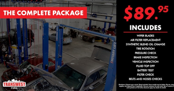 Ford Service Specials | Transwest Ford
