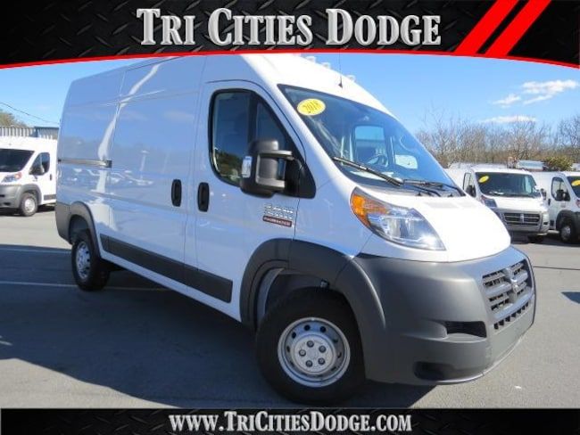 New 2018 Ram ProMaster 1500 CARGO VAN HIGH ROOF 136 WB Cargo Van 3C6TRVBG8JE101457 for sale near Johnson City