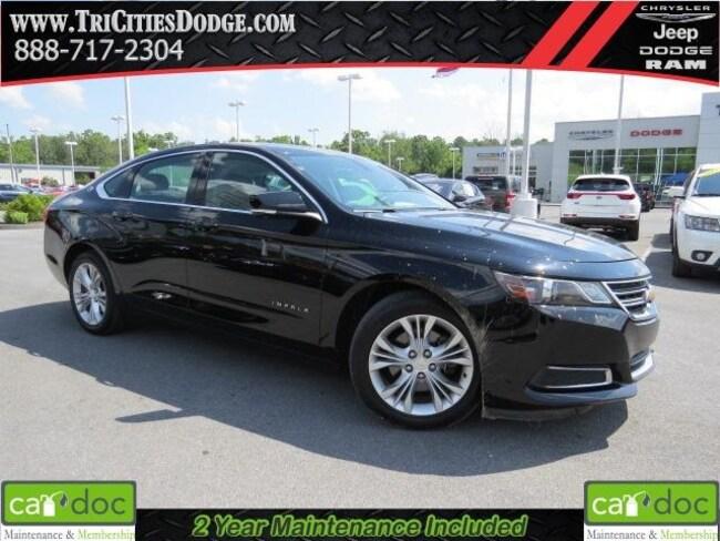 Used 2015 Chevrolet Impala LT Sedan 2G1125S36F9166971 for sale near Johnson City