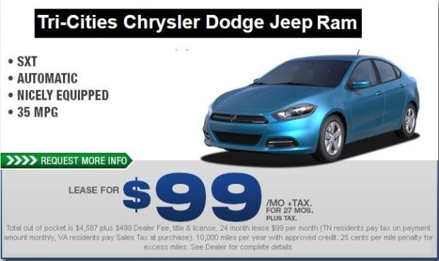 2015 Dodge Dart Lease