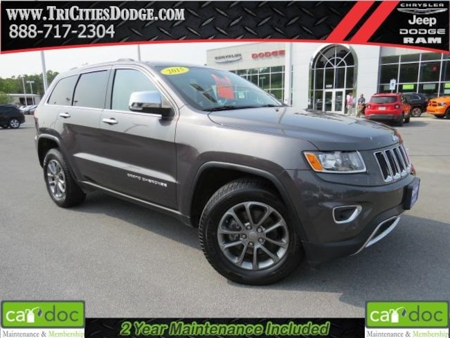 Used 2015 Jeep Grand Cherokee Limited SUV 1C4RJFBG4FC639216 for sale near Johnson City
