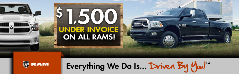 Ram Truck Special at Tri-City Chrysler Jeep Dodge Ram