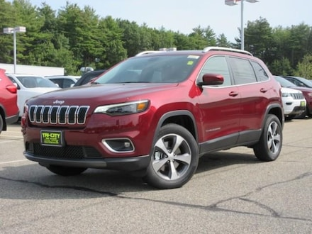 2020 Jeep Cherokee Limited 4WD  3.2 V6 / Pano M. Roof /  Auto suv