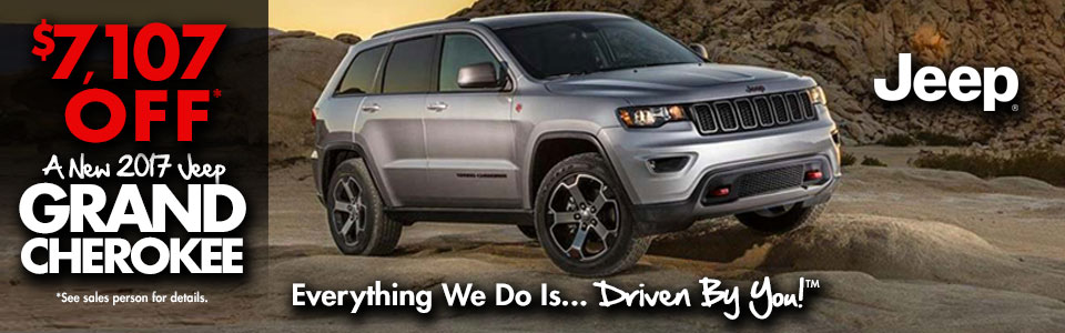 Brand New 2017 Jeep Grand Cherokee Special