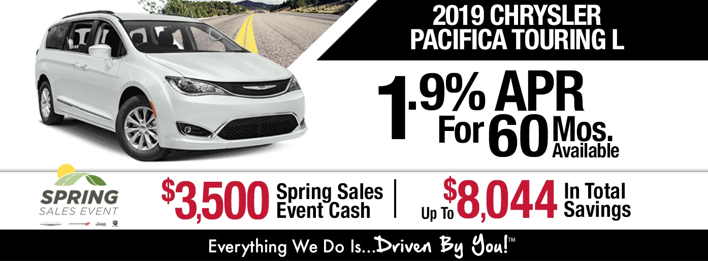 2019 Chrysler Pacifica Touring L Lease Special at Tri-City