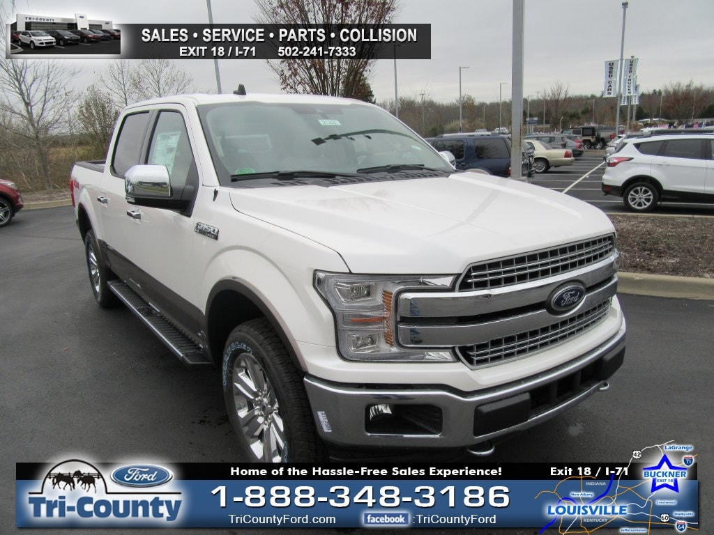 New 2019 Ford F-150 Lariat SuperCrew Radcliff, Kentucky