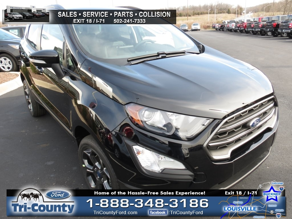 New 2018 Ford EcoSport SES Sport Utility For Sale in Radcliff, KY