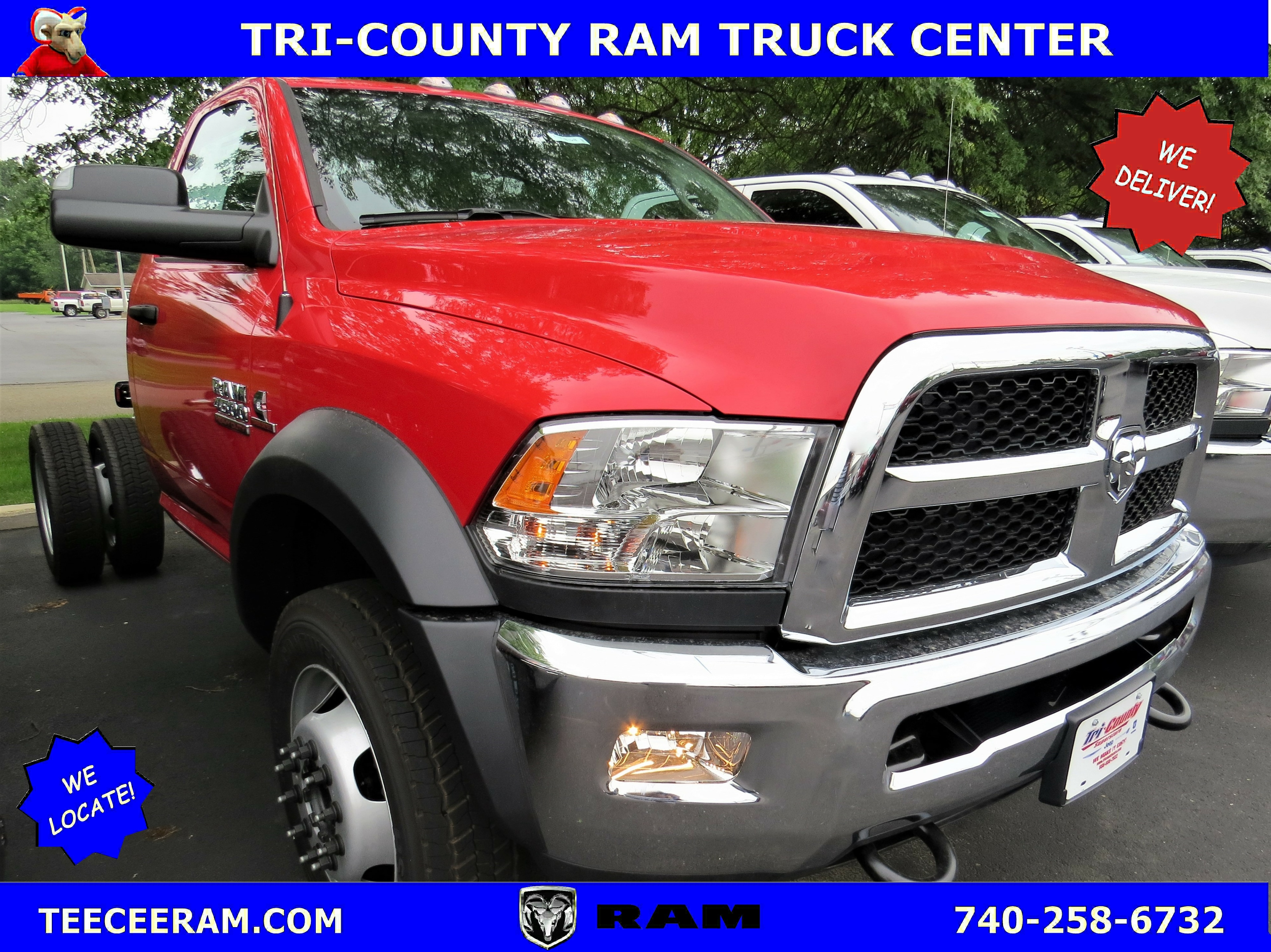 2018 Ram 4500 TRADESMAN CHASSIS REGULAR CAB 4X2 144.5 WB Regular Cab