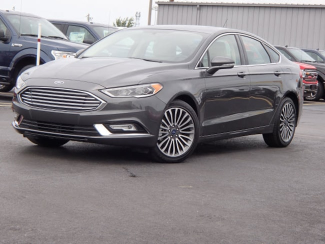 2018 Ford Fusion 4DR AWD Titanium  Sedan
