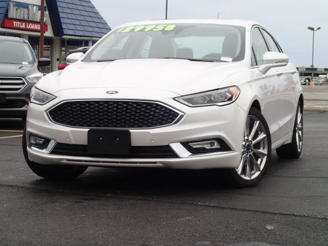 2018 Ford Fusion Platinum Platinum  Sedan