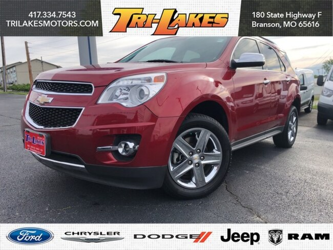 Used 2015 Chevrolet Equinox LTZ For Sale | Branson MO -